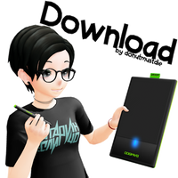 [MMD] Graphic Tablet Wacom Bamboo [DOWNLOAD] by donutmustdie