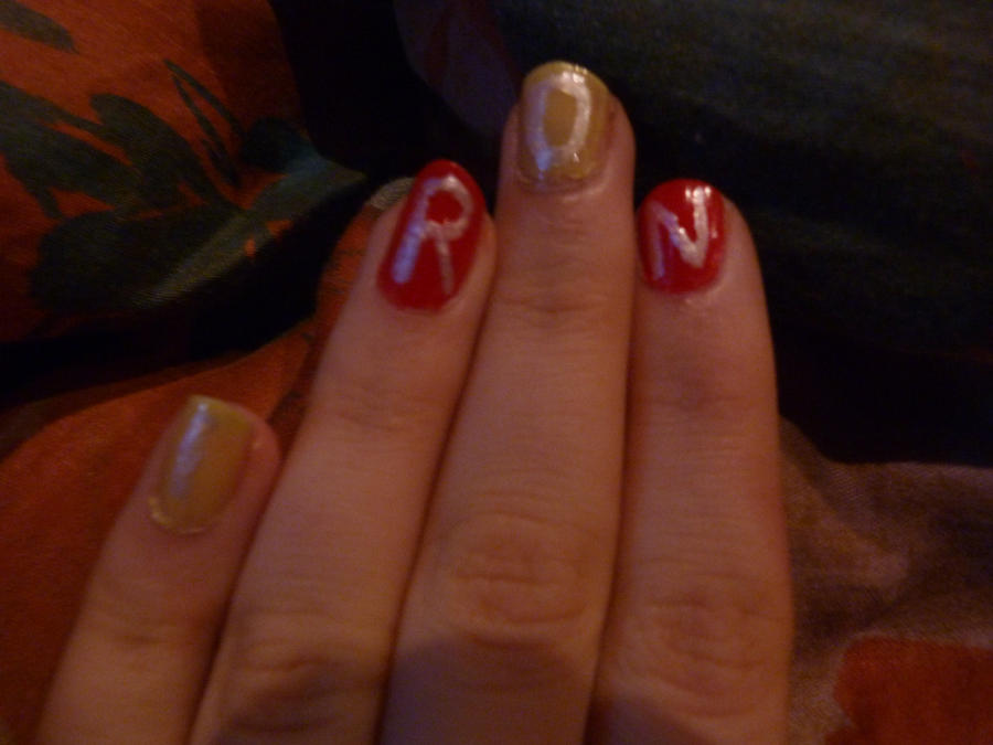 Ironman Nails 2 by GIR015 on DeviantArt