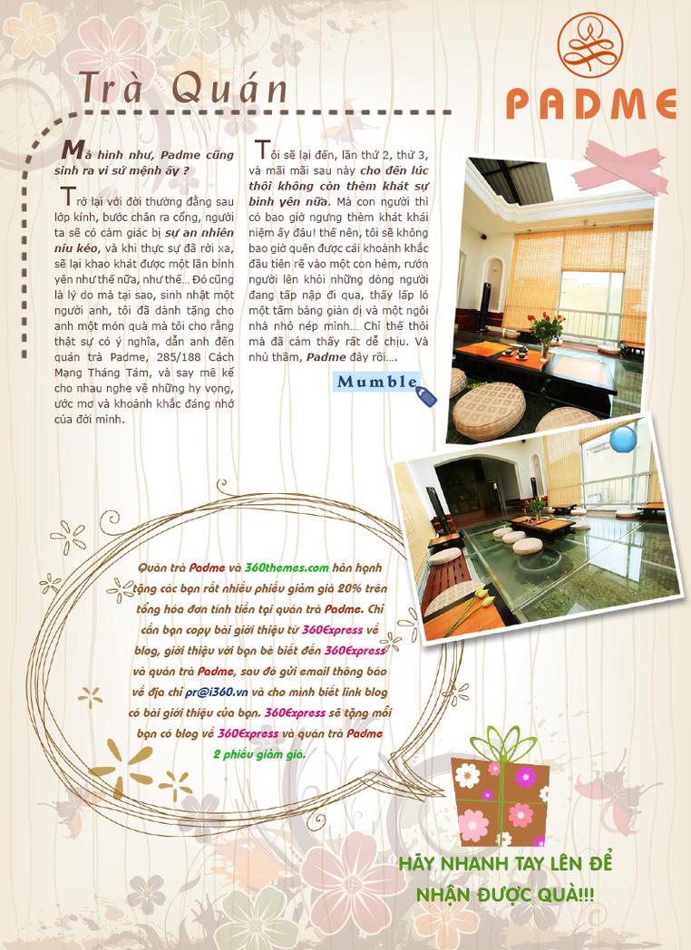 E Magazine Layout: Tea Room Ads (3) By JamieTr ...