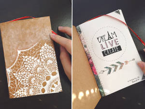 DIY sketchbook