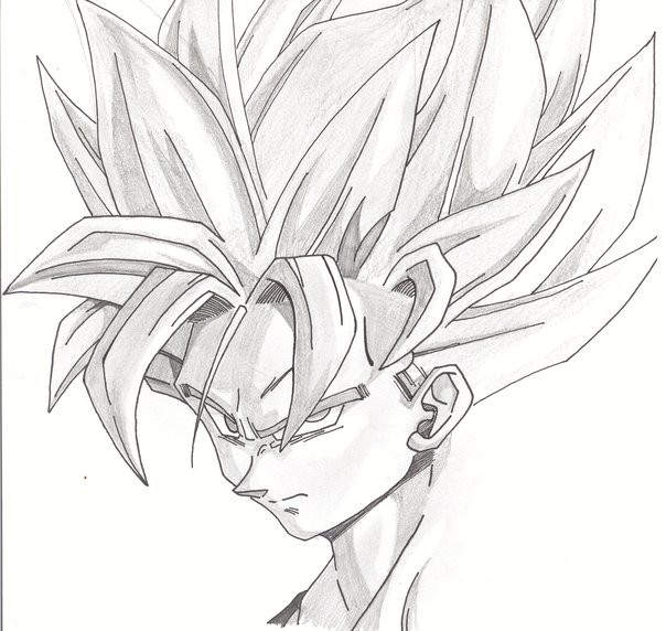 Super Saiyan 2 Goku By Palahniuksin666 On Deviantart