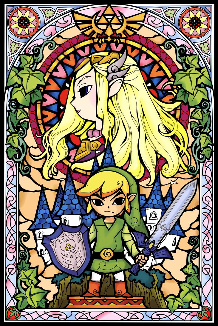 Legend Of Zelda Wind Waker Poster A Hero's Journey by pa...