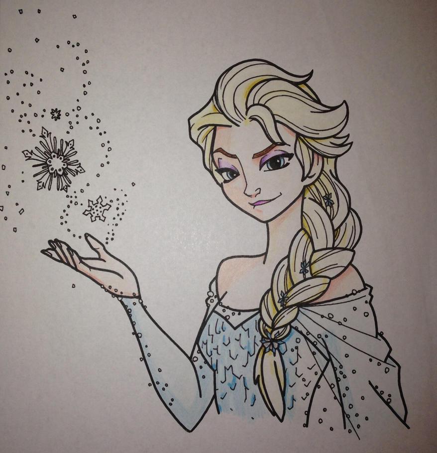 Elsa by palahniuksin666