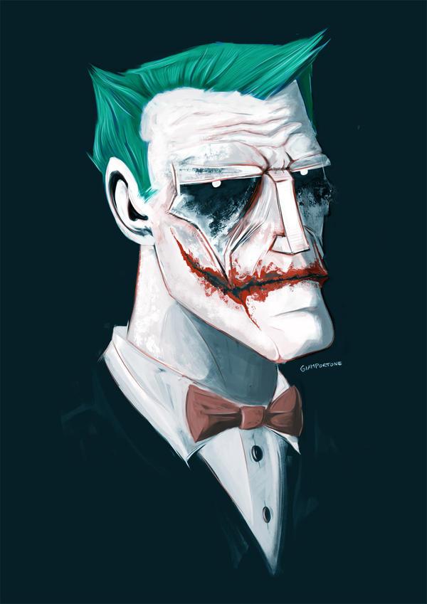 Joker Portrait by ForWhom