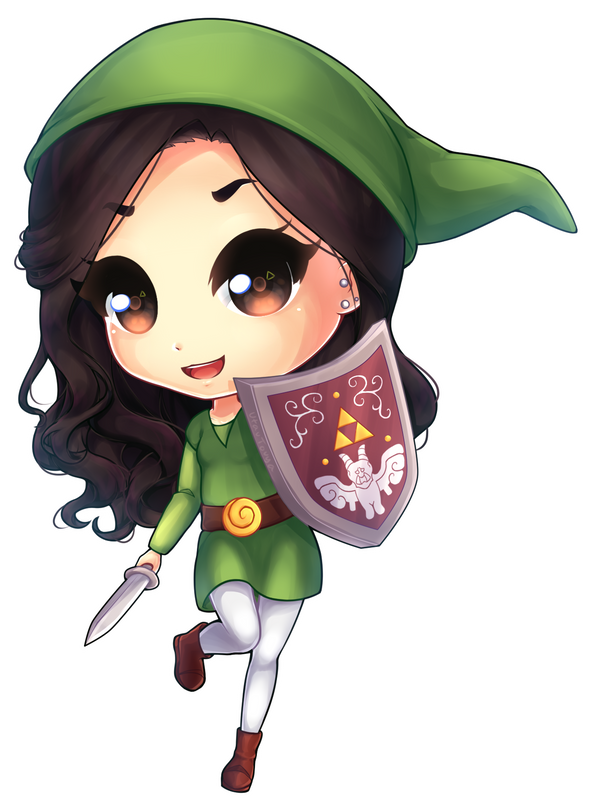 C: Chibi for asjun by utautouya