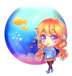 Fishie Fishie by utautouya