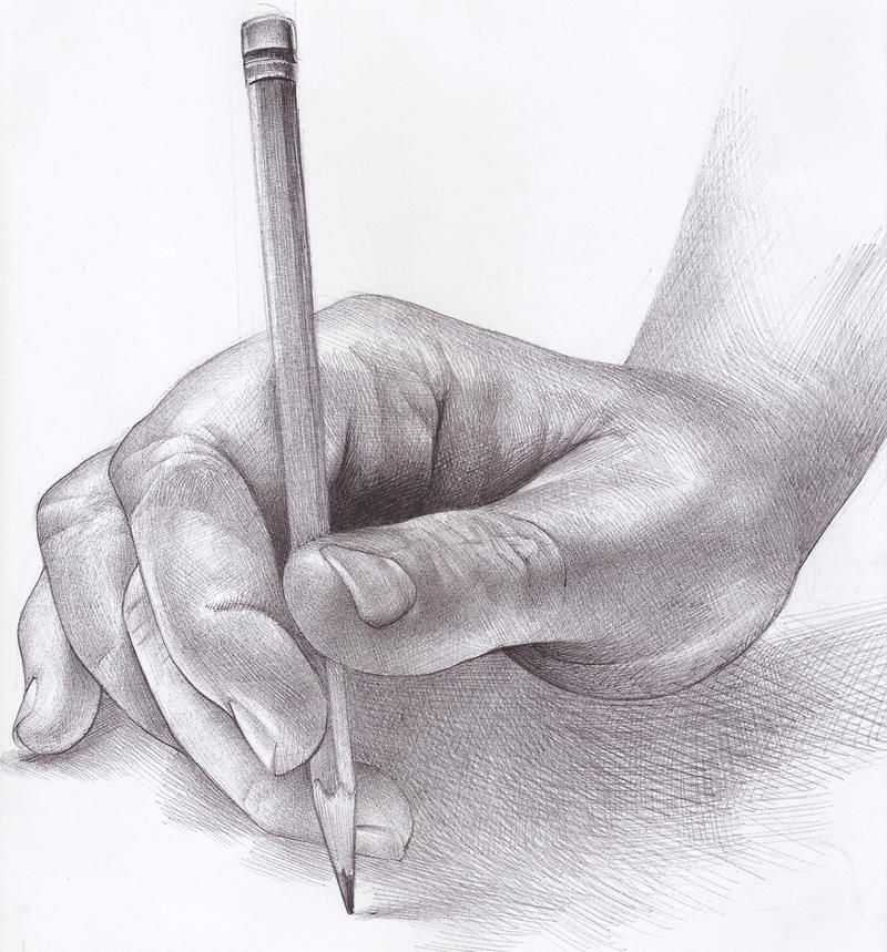 Hand Illustration by LuisSanchez