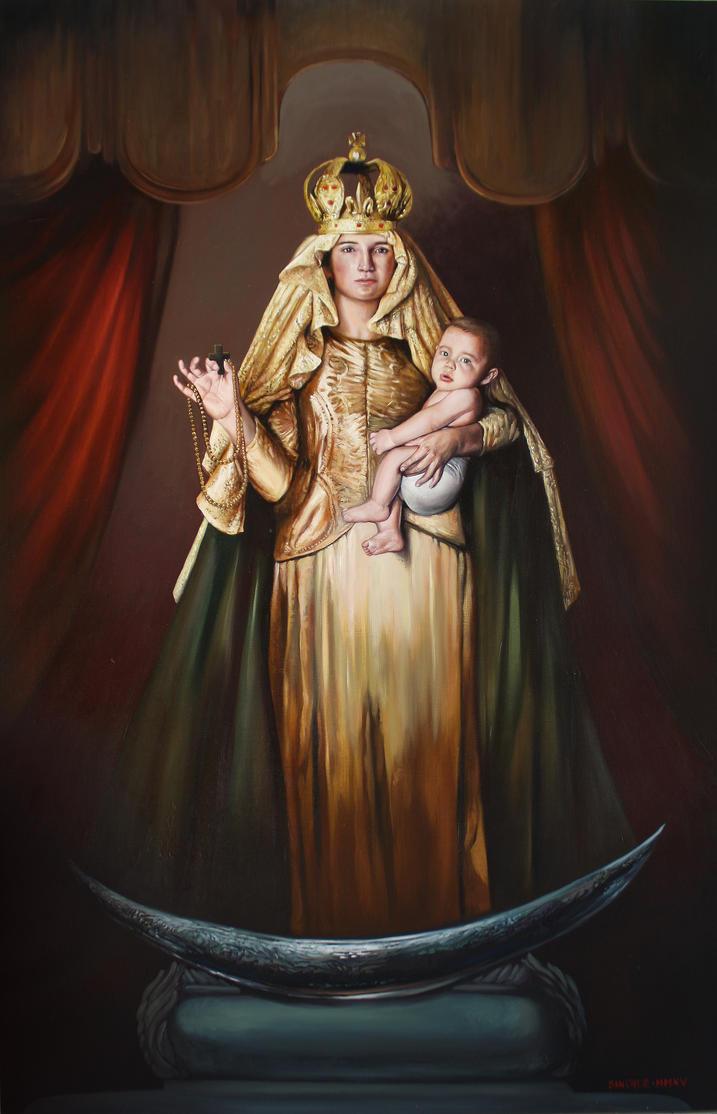 Virgen del Rosario by LuisSanchez