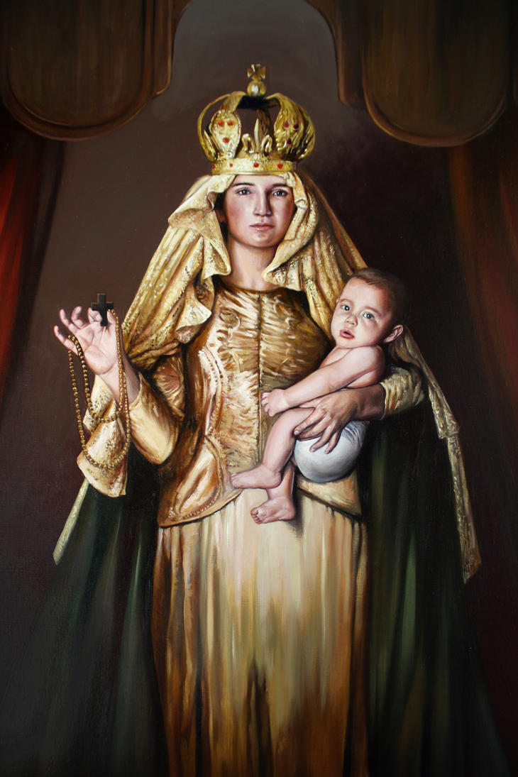 Virgen del Rosario detalle 1 by LuisSanchez