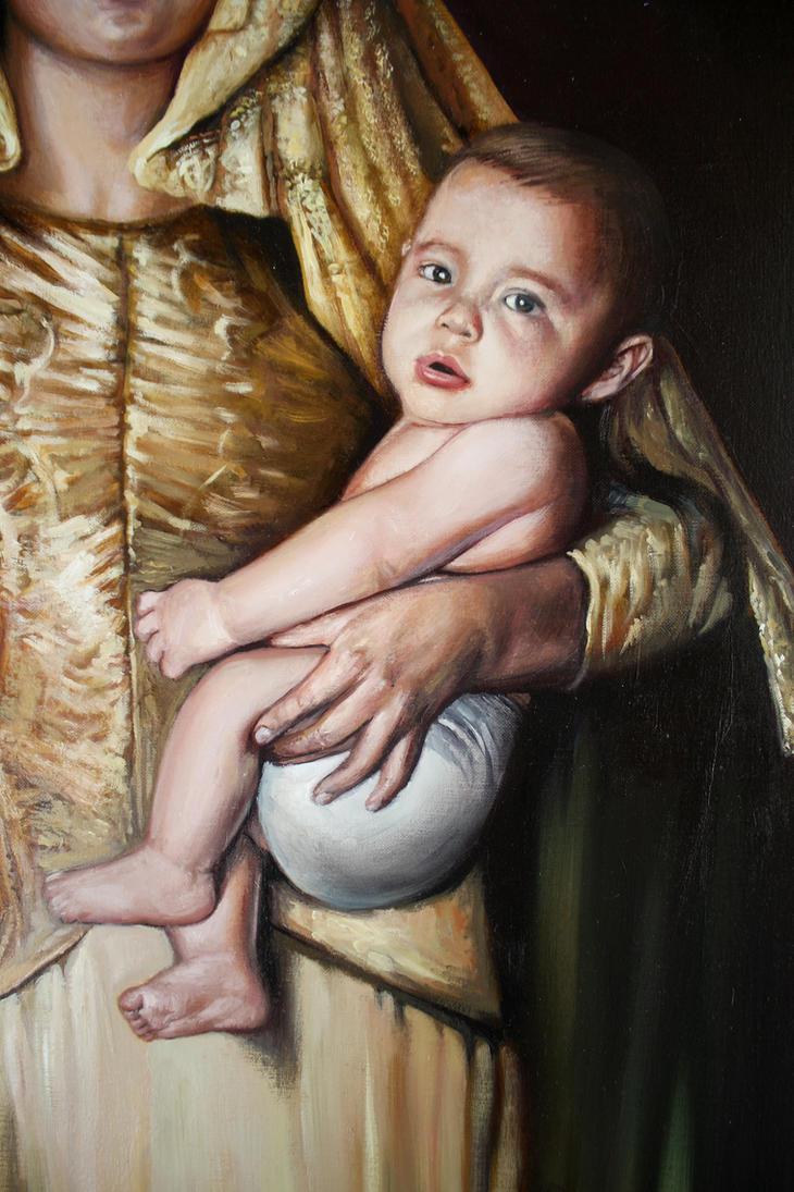 Virgel del Rosario Detalle 2 by LuisSanchez