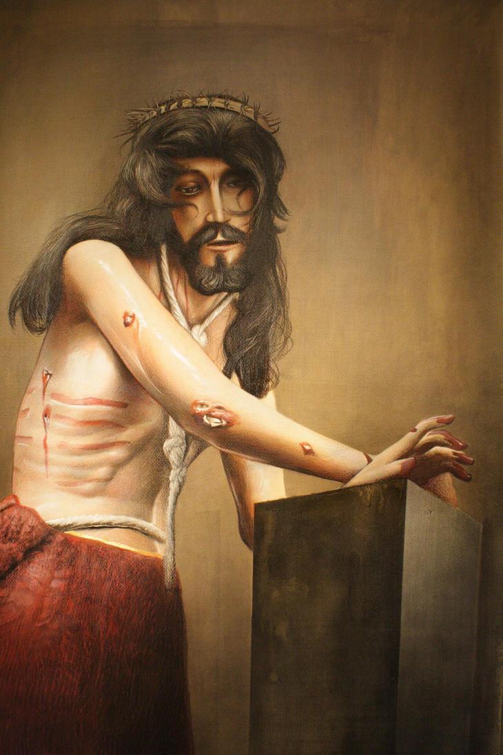 Cristo en la columna by LuisSanchez