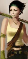 Jade in HD print by ShinkaWave