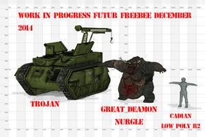 Futur Freebee by jibicoco