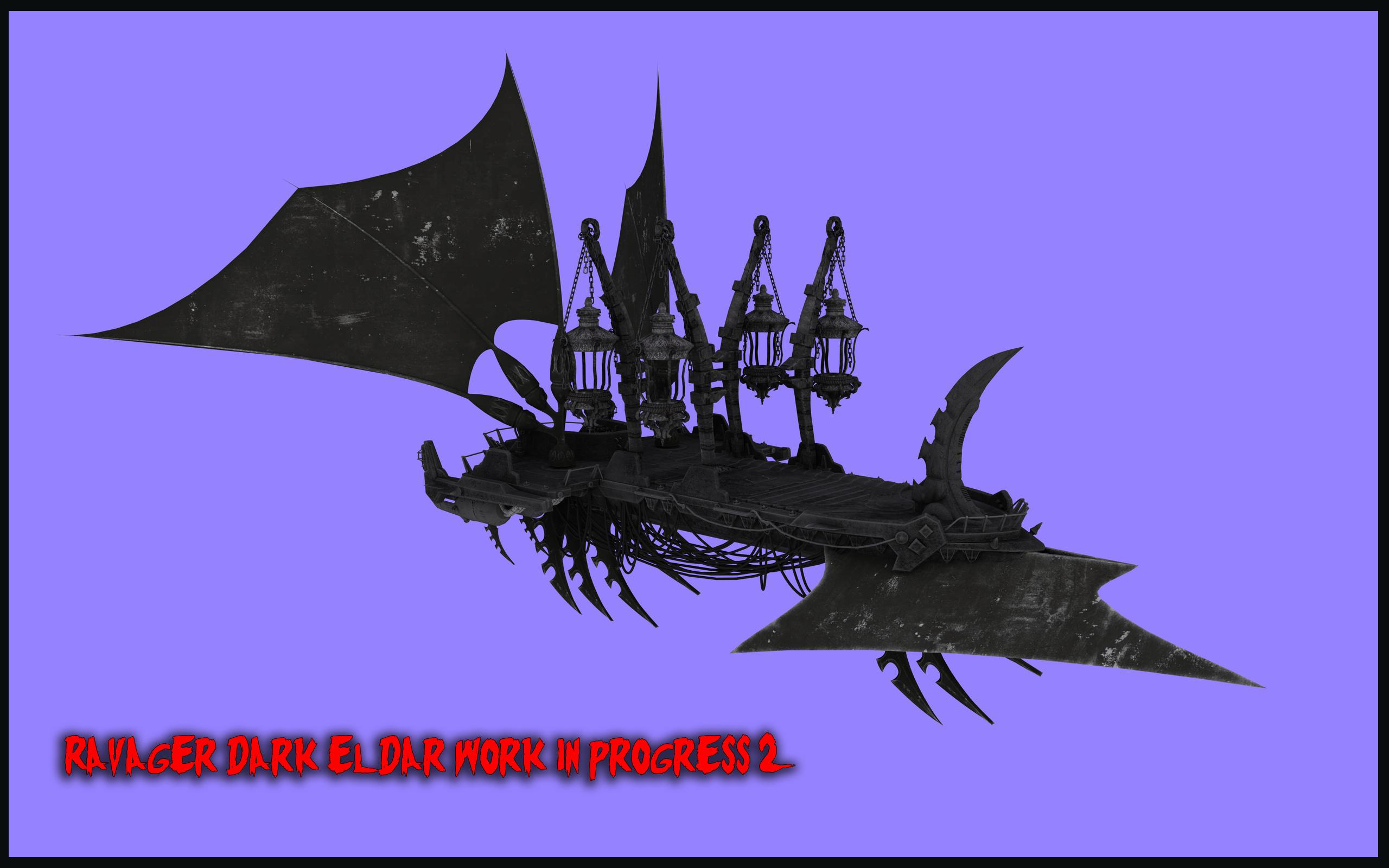 ravager dark eldar work in progress 2 by jibicoco