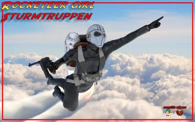 Sturmtruppen rocketeer girl !