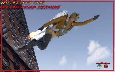 rocketeer girl daz3d, an american heroine