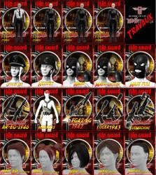 Characters Props Hair Elite Guard  Wolfenstein