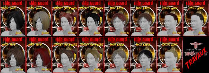 Materials Hair Elite Guard  Wolfenstein