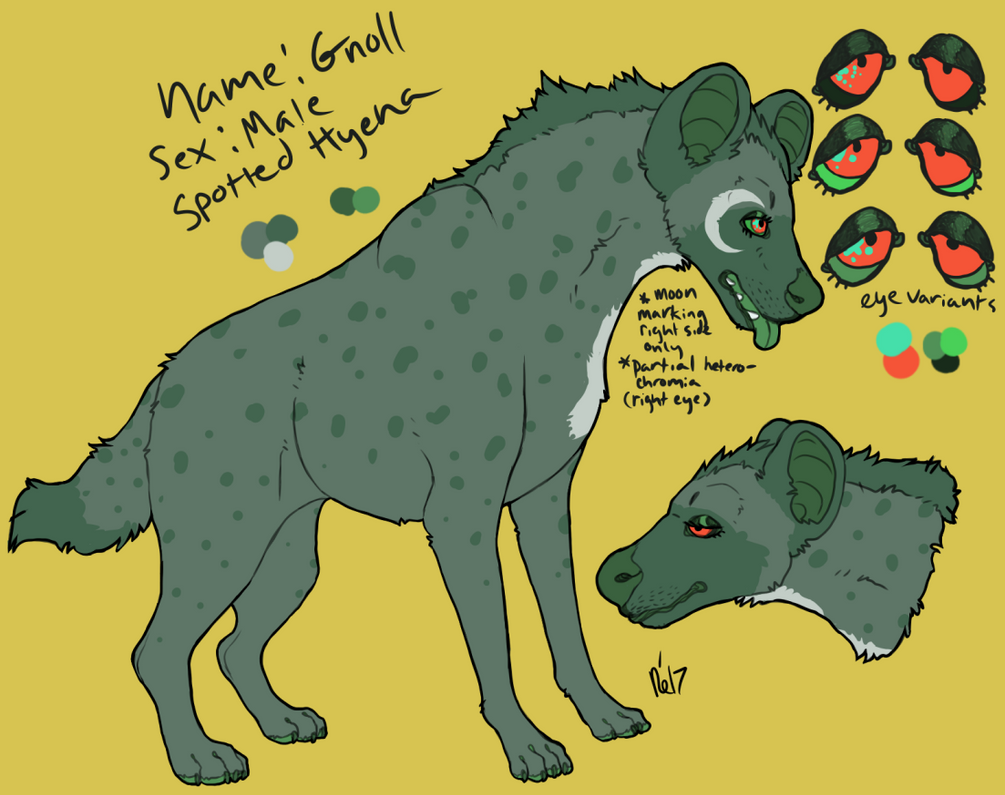 gnoll reference (2017) by barfs