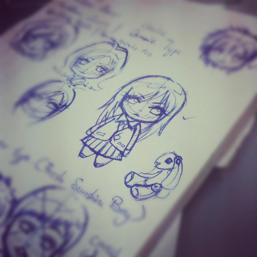 Sketching : Draft by KuroHim3