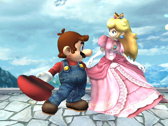 Mario and Peach by LilLaura6789 on DeviantArt