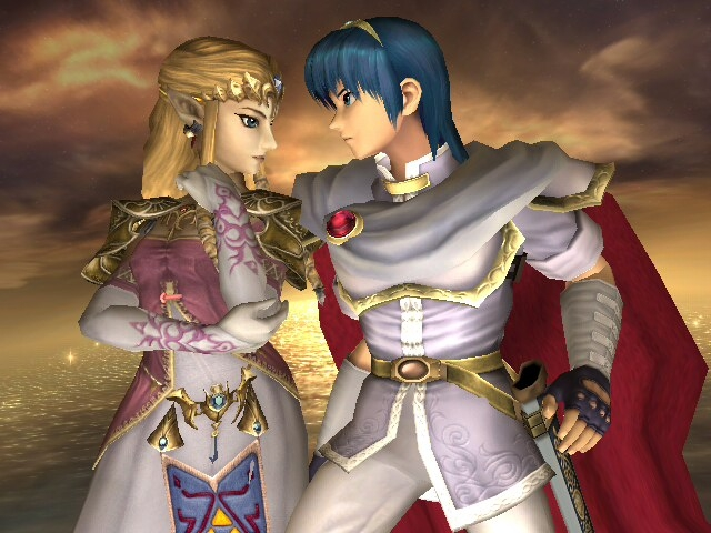 Zelda and Marth by LilLaura6789