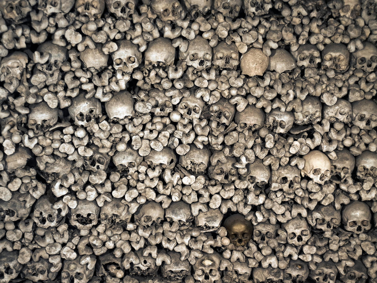 Skulls II by fumar-porros