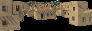 Desert Village II PNG