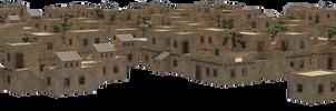 Desert Village III PNG