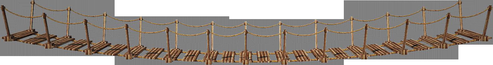 Wooden Bridge 3-A   Suspension Bridge 3-A   PNG by fumar-porros