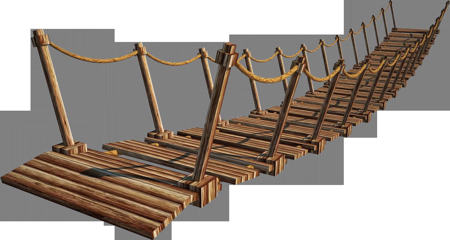 Wooden Bridge 4 A Suspension Bridge 4 A Png By Fumar