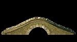 Carved Stone Foot Bridge 2 | PNG