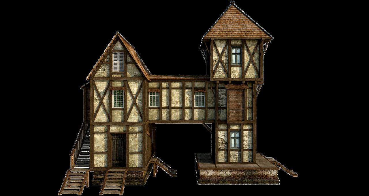 Dark House Building Plans