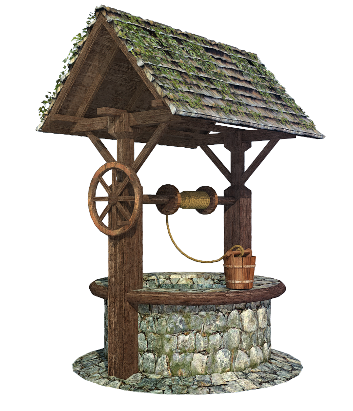 Medieval wishing water well png by fumar porros on for Well pictures