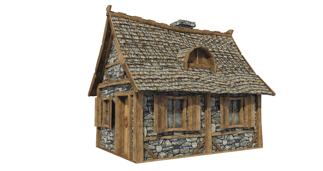 Medieval Hut A 2 Png By Fumar Porros On Deviantart