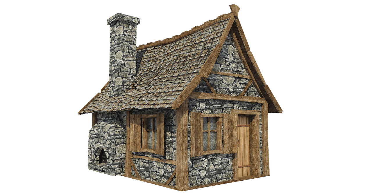 medieval hut a 3  png by fumar porros on deviantart cabin clipart pics cabin clip art images