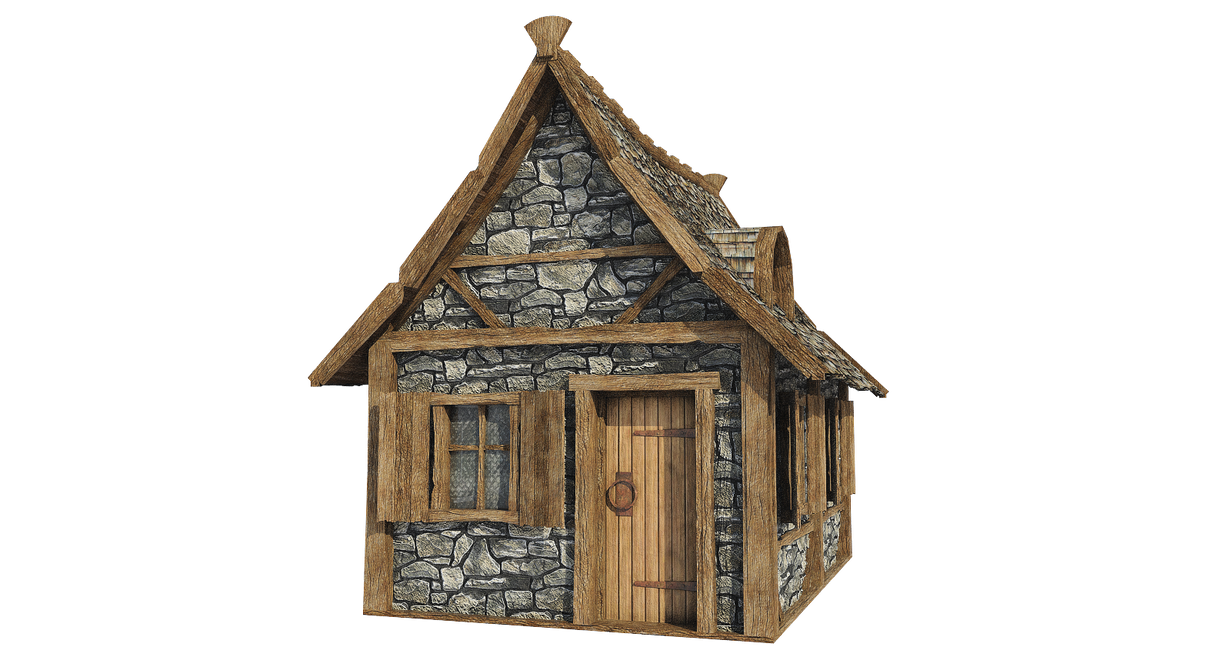 Png Hd Of Homes Transparent Hd Of Homes Png Images: Medieval Hut A-5, PNG By Fumar-porros On DeviantArt
