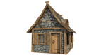 Medieval Hut A-5, PNG by fumar-porros
