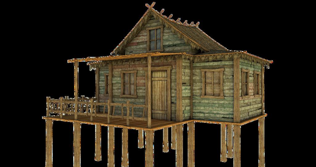 Small Bamboo Hut