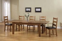 Chateau Oak Extending Dining Table CDT3 by solidwoodfurniture