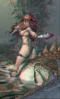 Red Sonja Anaglyph