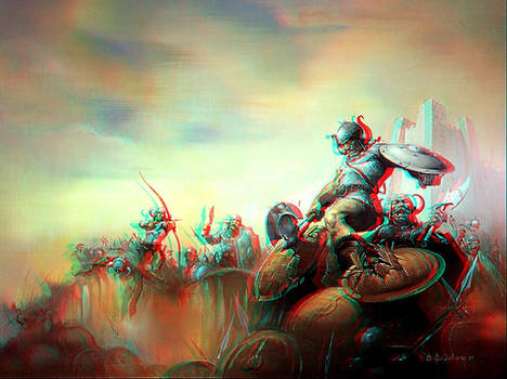Field of Fury Anaglyph