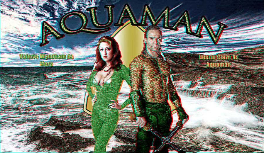 Aquaman Wallpaper Anaglyph by Geosammy on deviantART