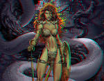 Red Sonja Anaglyph III