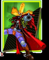 Gunslinger Spawn Colored