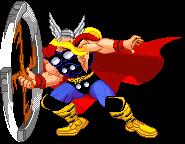 Thor I .gif by Geosammy