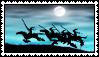 Silhouette Valkyrie Stamp by Geosammy