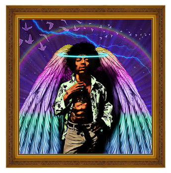 Jimi-Hendrix, Framed by Geosammy