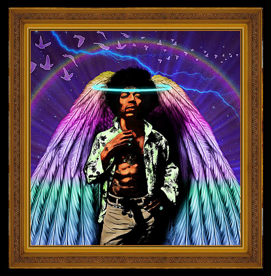 Jimi-Hendrix, Framed