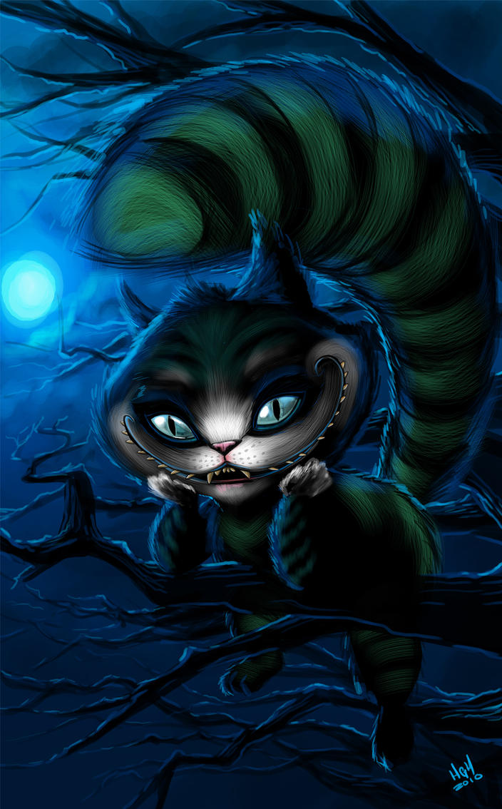 Cheshire cat by 7thorserider